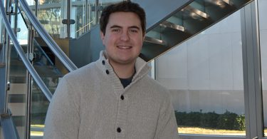 Matt Wilson. 2019 candidate for the Leukemia and Lymphoma Society's 'Student of the Year' award, at the Georgia Cancer Center at Augusta University.